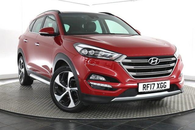 2017 Hyundai Tucson 2.0CRDi Premium SE (185ps) Auto (17 reg)