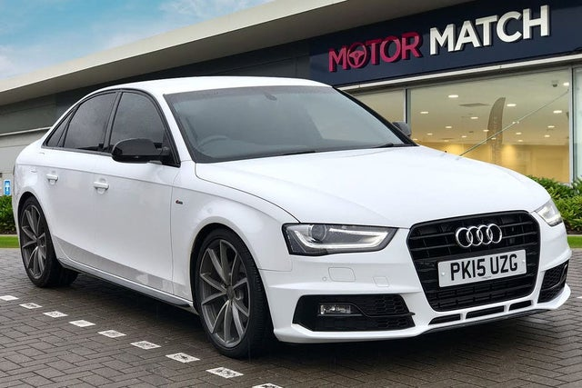2015 Audi A4 2.0TD Black Edition PLUS (150ps) Multitronic (15 reg)