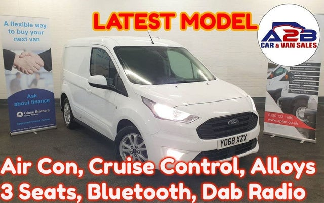 2018 Ford Transit Connect 1.5 EcoBlue L1 200 Limited (68 reg)