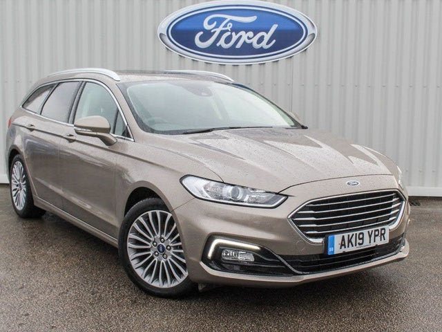 2019 Ford Mondeo 2.0TDCi Titanium Edition (150ps) EcoBlue (s/s) Estate (19 reg)