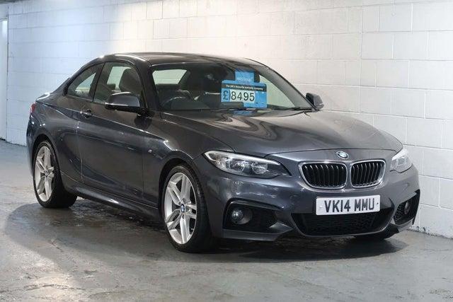 2014 BMW 2 Series 2.0 220i M Sport Coupe 2d (14 reg)