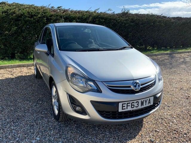 2014 Vauxhall Corsa 1.2 Energy 16v (a/c) 3d (63 reg)