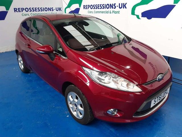 2012 Ford Fiesta 1.6TD Titanium ECOnetic 3d (61 reg)