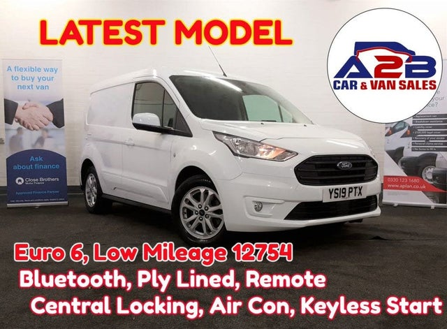 2019 Ford Transit Connect 1.5 EcoBlue L1 200 Limited (120PS)(EU6) (19 reg)