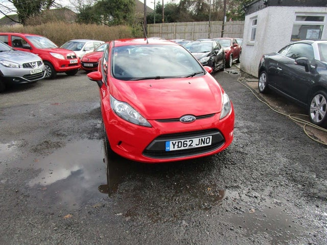 2012 Ford Fiesta 1.25 Style (60ps) 3d (62 reg)