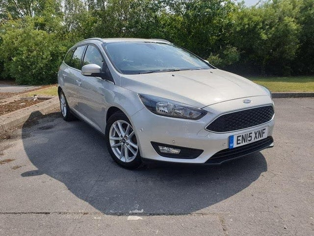 2015 Ford Focus 1.5TDCi Zetec (120ps) Estate 1496cc (15 reg)