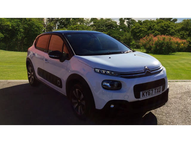 2017 Citroen C3 1.6BlueHDi Flair (67 reg)