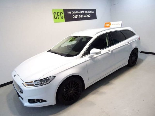 2015 Ford Mondeo 2.0TDCi Titanium (150ps) ECOnetic (s/s) Estate (65 reg)