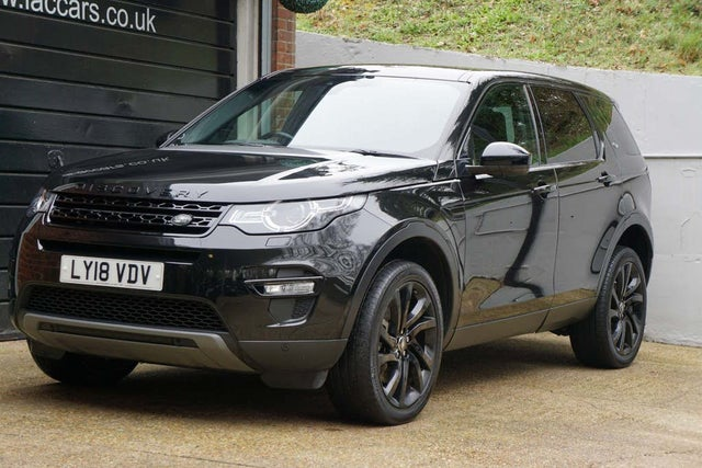 2018 Land Rover Discovery Sport 2.0SD4 HSE Black (18 reg)