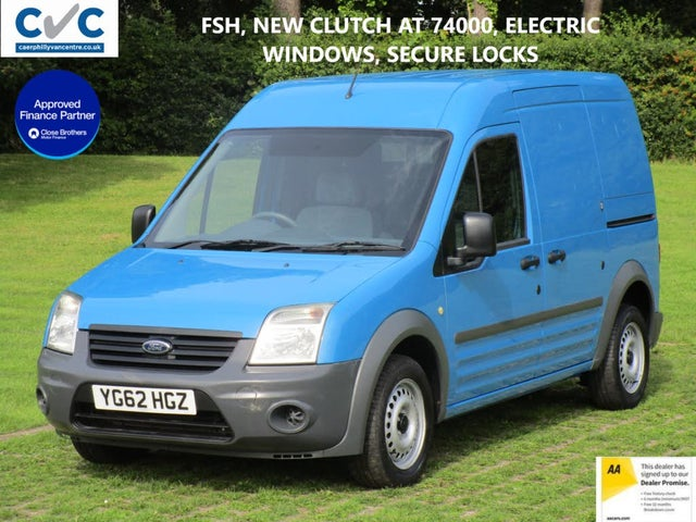 2012 Ford Transit Connect 1.8TD T230 LWB (90PS) High Roof (62 reg)