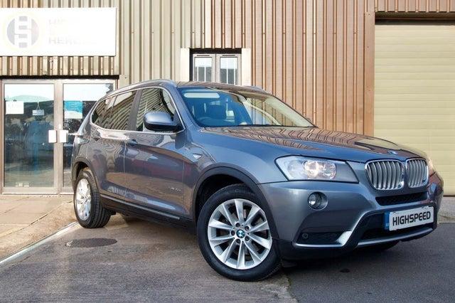 2011 BMW X3 3.0TD xDrive30d SE (258bhp) Auto (11 reg)