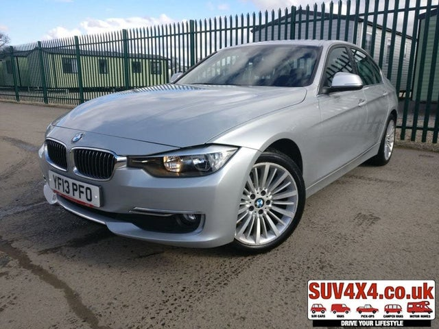 2013 BMW 3 Series 2.0TD 320d Luxury (184bhp) (s/s) Saloon 4d (13 reg)