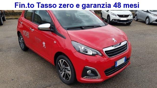 2020 Peugeot 108 72 5 porte Active