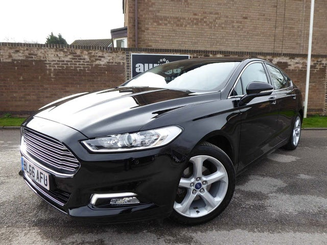 2017 Ford Mondeo 2.0TDCi Titanium (180ps) Hatchback Powershift (66 reg)