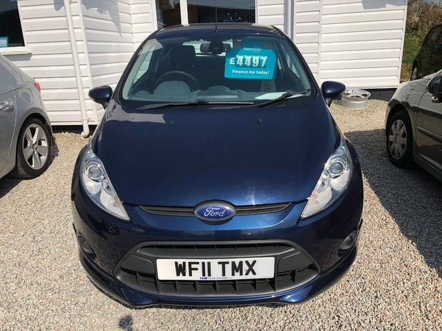 2011 Ford Fiesta 1.6TD Sport (95PS) Stage V (11 reg)