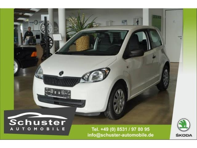 Skoda Citigo Cool Edition 1.0 Klima CD DAB-Radio MP3 ESP Seitenairb. Scheckheft Radio TRC ASR Airb