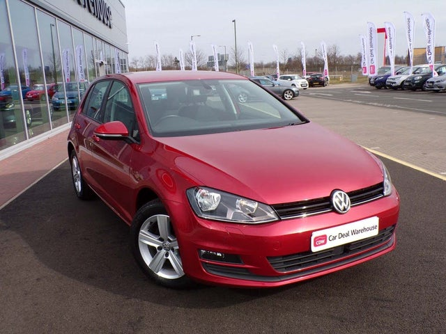 2016 Volkswagen Golf 1.6TDI Match Edition Hatchback 5d DSG (16 reg)
