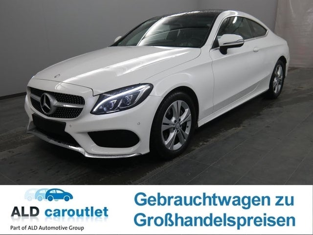 Mercedes-Benz C 200 Coupe AMG Line Navi LED SD PDC