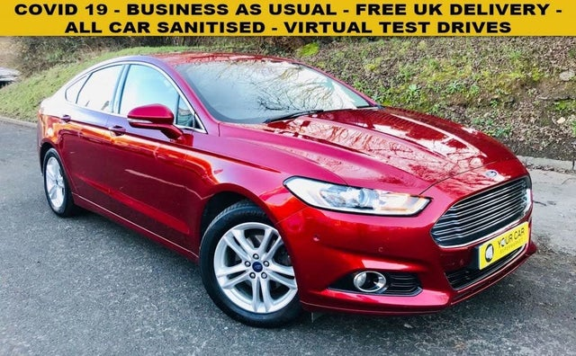 2015 Ford Mondeo 2.0TDCi Titanium (180ps) (s/s) Hatchback Powershift (15 reg)