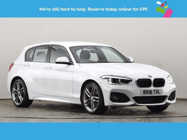 2018 BMW 1 Series 2.0TD 118d M Sport 5d (18 reg)