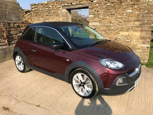 2016 Vauxhall ADAM 1.0i Turbo ROCKS AIR (Tech Pk) (s/s) (66 reg)