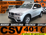2015 BMW X3 sDrive 18dA