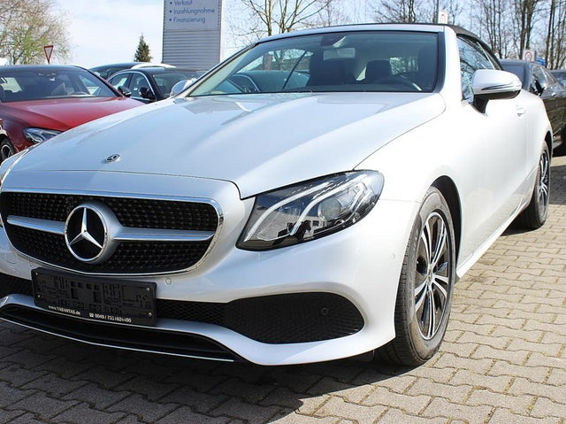 Mercedes-Benz E 200 Cabrio Avantgarde Kamera DSB Totwinkl. LED High Performance