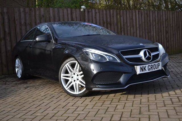 2015 Mercedes-Benz E-Class 3.0CDI E350 AMG Line (258ps) (s/s) Coupe 2d (15 reg)