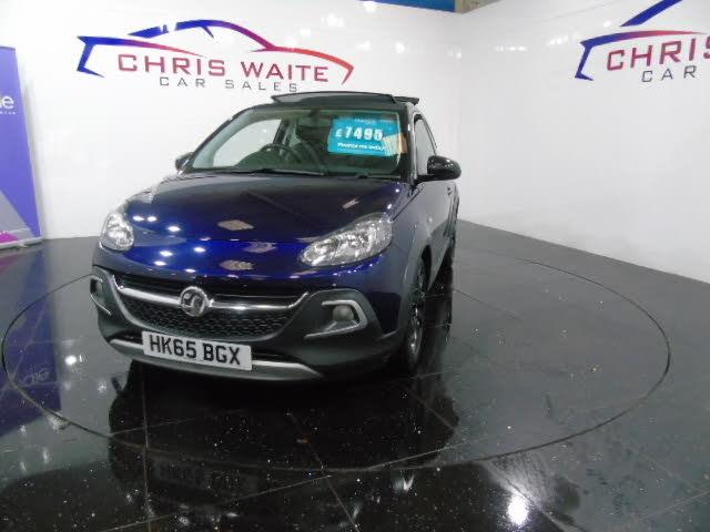 2015 Vauxhall ADAM 1.4 VVT 16v ROCKS AIR (65 reg)