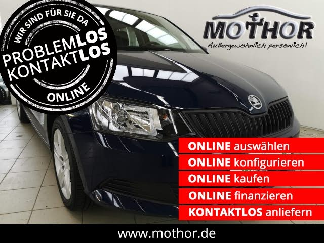 Skoda Fabia III Cool Edition 1.2TSI 1.Hand Bluetooth