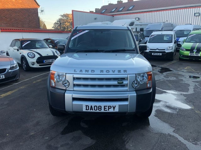 2008 Land Rover Discovery 3 2.7TD GS (1M reg)