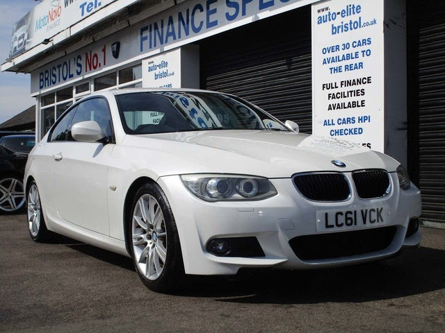 2011 BMW 3 Series 2.0TD 320d M Sport Coupe 2d (61 reg)
