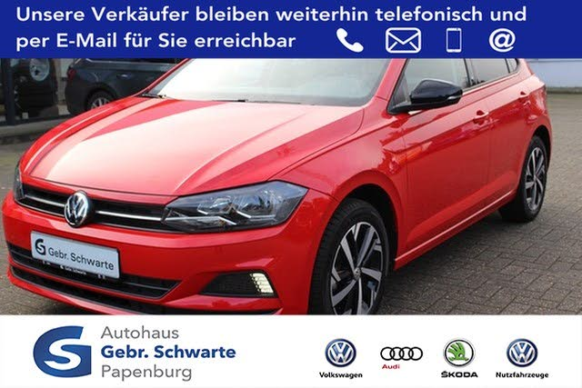 VW Polo 1.0 beats SHZ GRA Bluetooth LM*16