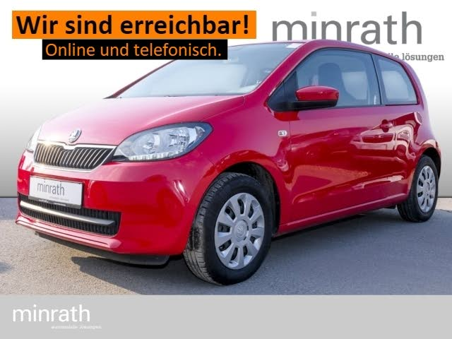 Skoda Citigo Ambition 1.0 Klimaautom CD MP3 ESP Spieg. beheizbar Sperrdiff. Seitenairb. Radio