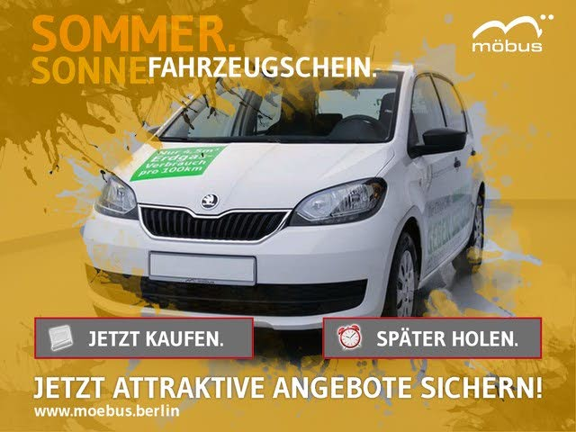 Skoda Citigo 1.0 CNG ACTIVE +RADIO+ABS+ESP+