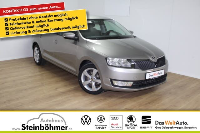 Skoda Rapid Spaceback 1.2TSI Cool Edition Klima,