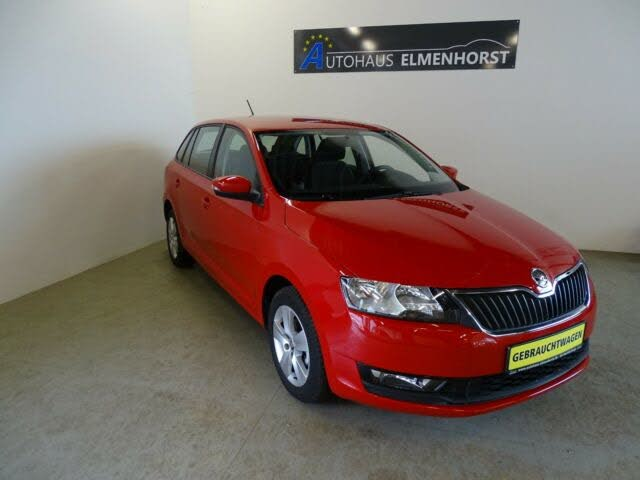 Skoda Rapid 1,0TSI 95PS Spaceback Ambition Si.Hzg/PDC