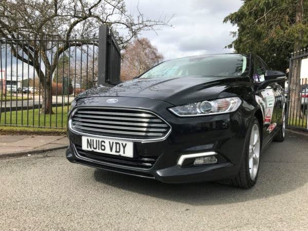 2016 Ford Mondeo 2.0TDCi Titanium (180ps) (s/s) Hatchback Powershift (16 reg)