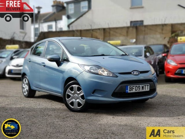 2009 Ford Fiesta 1.25 Style (60ps) 5d (09 reg)