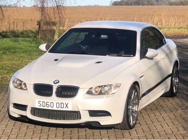 2010 BMW 3 Series 4.0 M3 (420bhp) Convertible 2d DCT (60 reg)