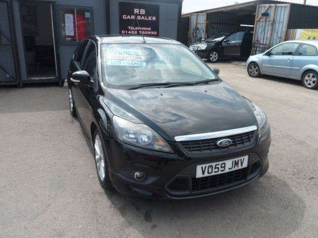 2009 Ford Focus 1.8 Zetec S Hatchback 5d (59 reg)