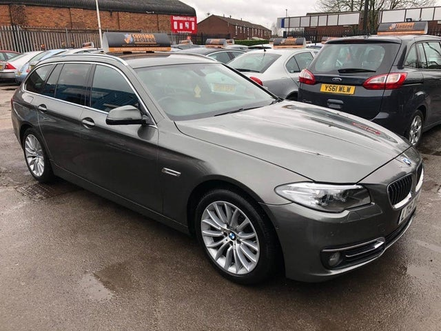 2015 BMW 5 Series 2.0TD 520d Luxury (184bhp) Touring 5d Auto (15 reg)