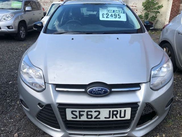 2012 Ford Focus 1.6TDCi Edge (95ps) Estate 1560cc (62 reg)