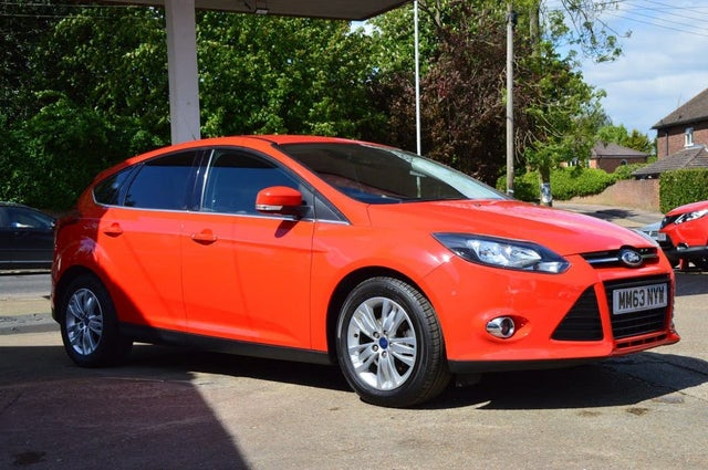 2014 Ford Focus 1.0 Titanium Navigator SCTi (100ps) Hatchback (63 reg)