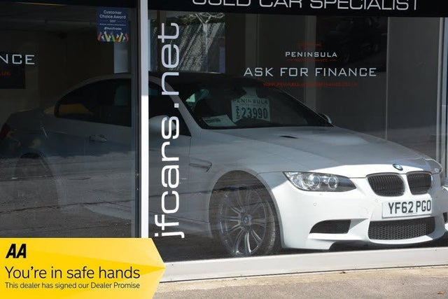 2013 BMW 3 Series 4.0 M3 Coupe DCT (62 reg)
