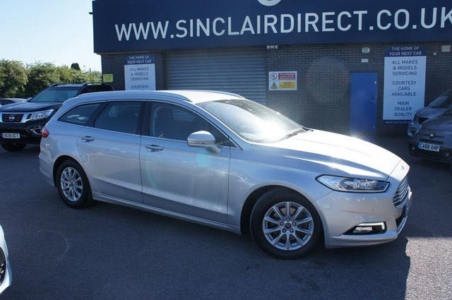 2017 Ford Mondeo 1.5TDCi Titanium ECO Estate 1498cc (17 reg)