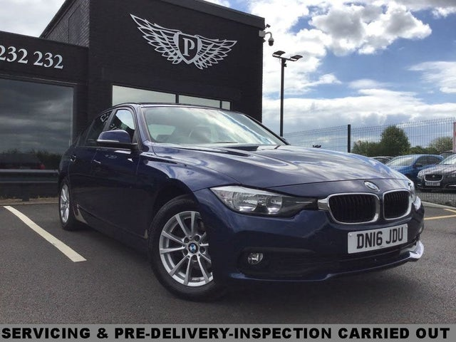 2016 BMW 3 Series 2.0TD 320d ED Plus Saloon 4d (16 reg)