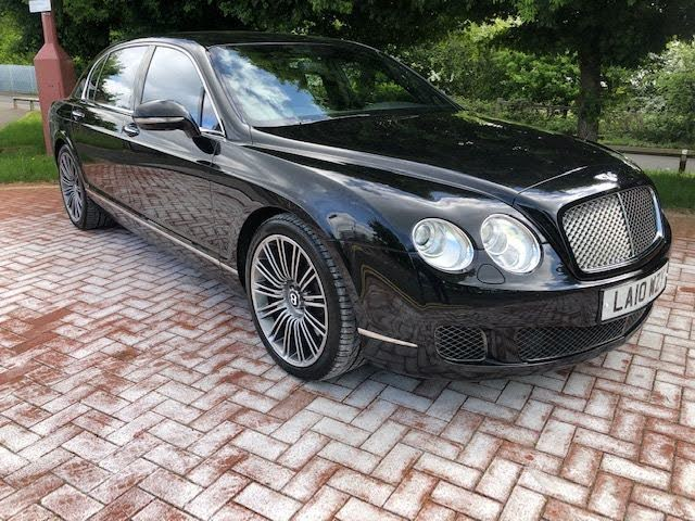 2010 Bentley Continental 6.0 W12 Flying Spur Speed auto (10 reg)