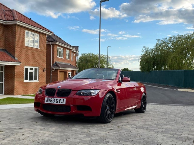 2013 BMW 3 Series 4.0 Limited Edition 500 M3 (Carbon) Convertible DCT (63 reg)