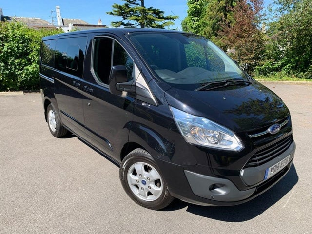 2015 Ford Transit Custom 2.2TDCi 290 L1H1 Limited (125PS) Double Cab-in-Van (15 reg)